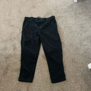 Maurices Black Ankle Length Pants 18